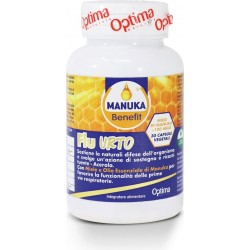 Manuka Benefit Flu Urto 30 capsule vegetali Optima Naturals