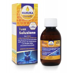 Manuka Benefit Flu Tuss Soluzione 140 ml Optima Naturals
