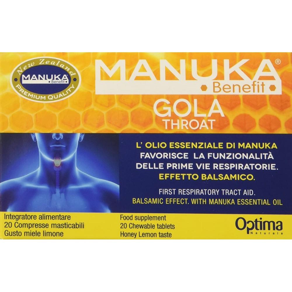 Manuka Benefit Gola Voce 20 compresse