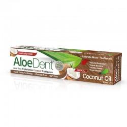 Aloedent Dentifricio Tripla Azione Cocco 100 ml Optima Naturals