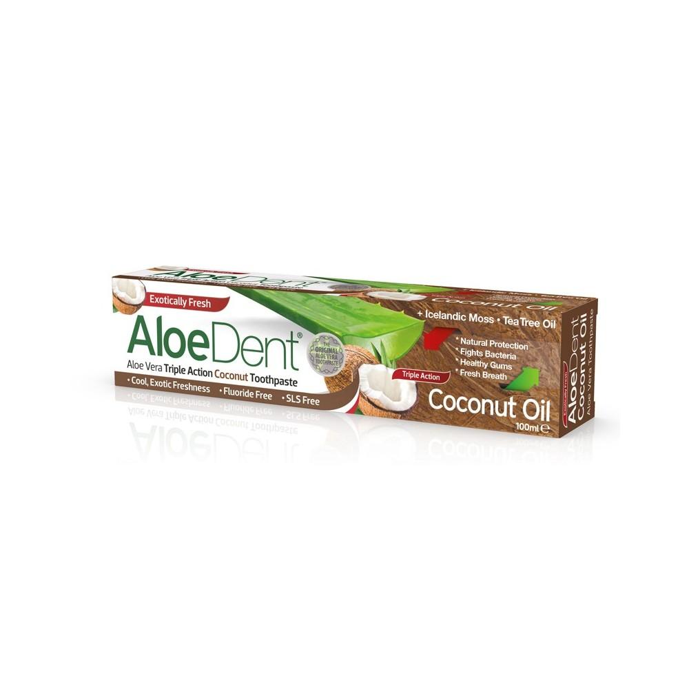 Aloedent Dentifricio Tripla Azione Cocco
