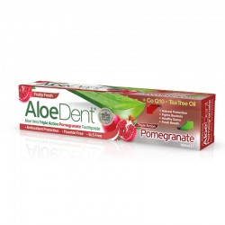 Aloedent Dentifricio Tripla Azione Melograno 100 ml Optima Naturals