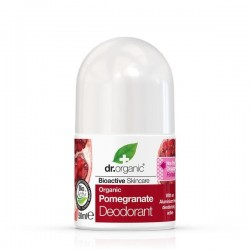 Deodorante roll-on Pomegranate Melograno 50 ml Dr. Organic
