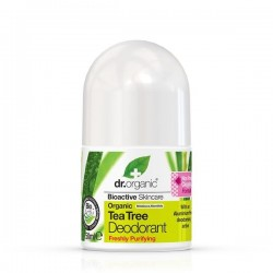 Deodorante roll-on Tea Tree 50 ml Dr. Organic