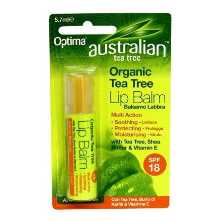 Australian Tea Tree Balsamo labbra 5.7 ml  Optima Naturals