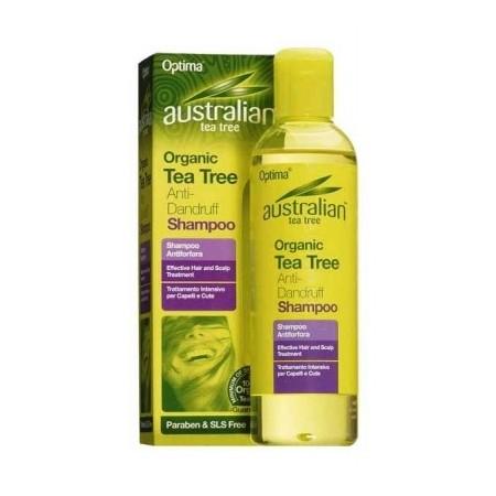 Australian Tea Tree Shampoo antiforfora 250 ml Optima Naturals