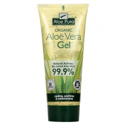 Aloe Vera Gel puro corpo 200 ml Optima Naturals