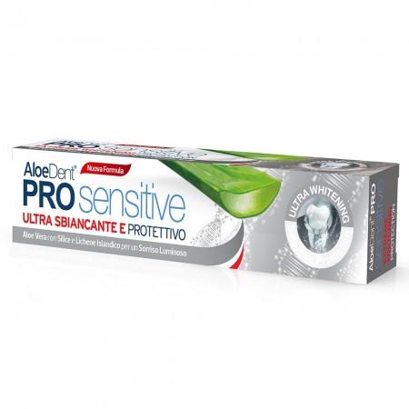 Aloedent Dentifricio Pro Sense Ultrasbiancante 75ml Optima Naturals