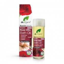 Olio da bagno Rose Bath Oil 100 ml Dr. Organic