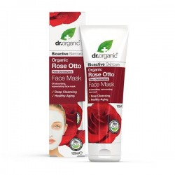 Maschera viso Rose Face Mask 125 ml Dr. Organic
