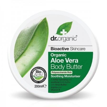 Burro Corpo Aloe Vera Body Butter 200 ml Dr. Organic