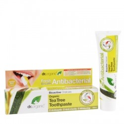 Dentifricio Tea Tree Toothpaste 100 ml Dr. Organic