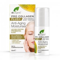 Crema Viso Pro Collagen Plus con Milk Protein Probiotics 50 ml Dr. Organic
