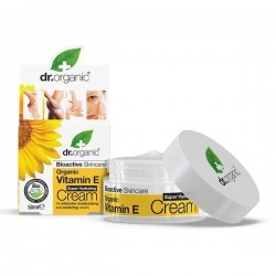 Crema viso idratante Vitamina E Super Hydrating Cream 50 ml Dr. Organic