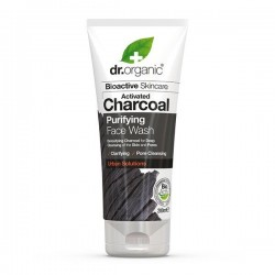 Detergente viso Charcoal Carbone Vegetale Face Wash 200 ml Dr. Organic