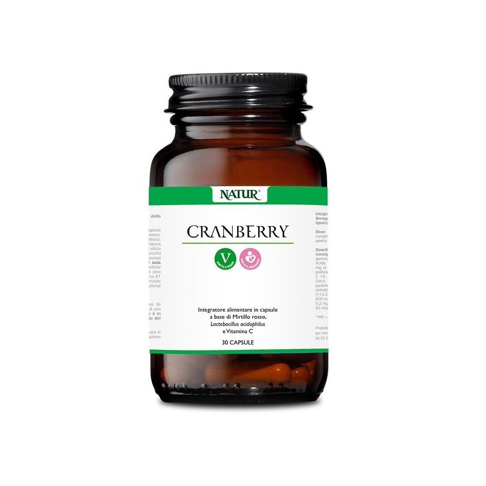 Natur Cranberry 30 capsule vegetali