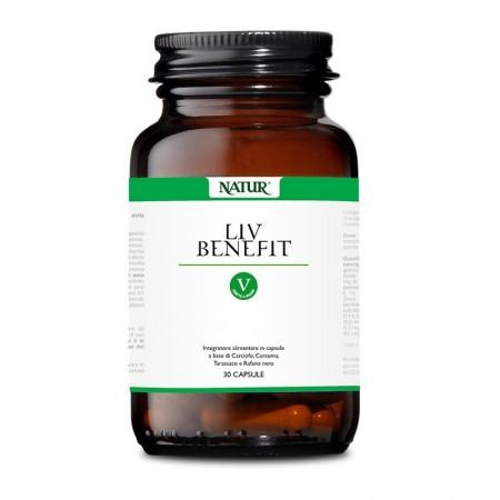 Natur Liv benefit 30 capsule vegetali Integratore alimentare