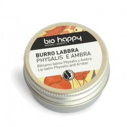 Balsamo labbra physalis e ambra 10 ml Bio Happy