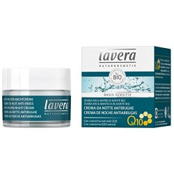 Crema notte Basis sensitiv anti age 50 ml Lavera