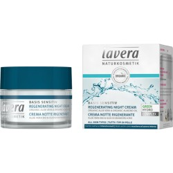 Crema notte rigenerante Basis sensitiv 50 ml Lavera