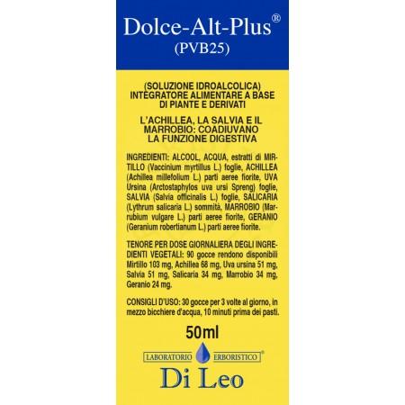 Di Leo Dolce Alt Plus P.V.B 25 50 ml Integratore Alimentare