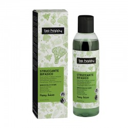 Struccante bifasico broccolo e kiwi 200 ml Bio happy