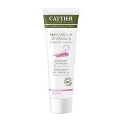 Maschera in tubo all'argilla rosa e aloe vera 100 ml Cattier