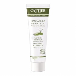 Maschera in tubo all'argilla verde e menta 100 ml Cattier