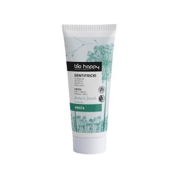Dentifricio alla menta Natural & delicate 75 g Bio happy