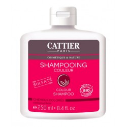 Shampoo riparatore per capelli colorati 250 ml Cattier