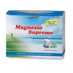 Magnesio supremo 32 bustine monodose Natural point