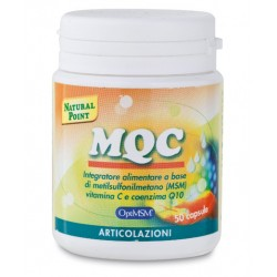 Mqc integratore di metilsulfonilmetano vitamina c e q10 50 capsule Natural point