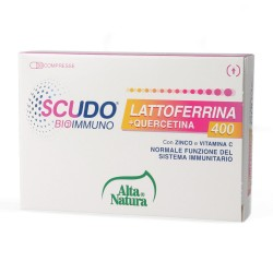 Scudo Bioimmuno Lattoferrina 1040 mg 30 cpr Alta Natura