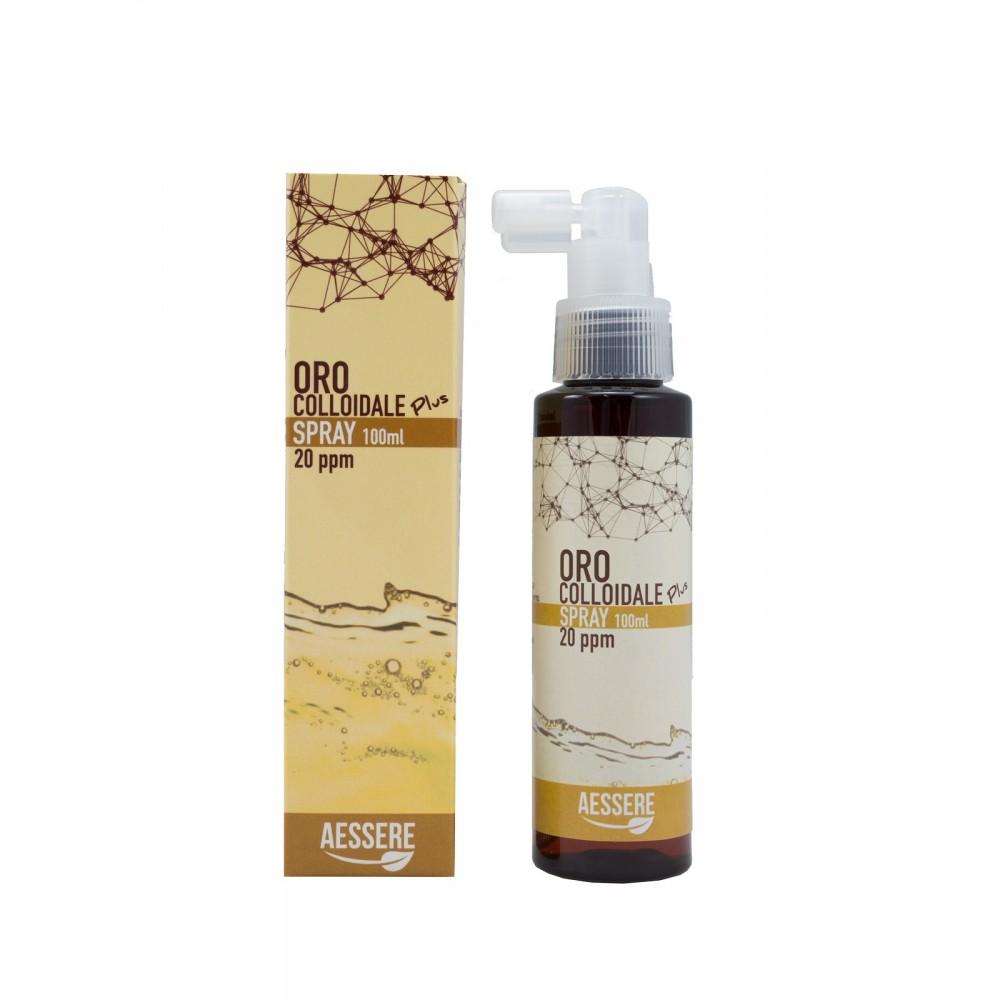 Aessere Oro Colloidale Plus Spray 20 ppm