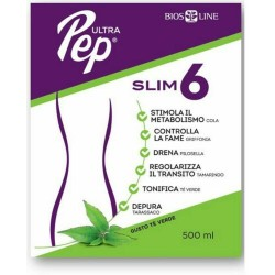Ultra Pep Slim 6 Tè verde 20 bst da 10 ml Biosline