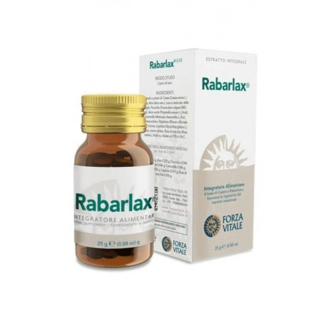 Ecosol Forza Vitale Rabarlax Benessere intestinale 25 gr Integratore alimentare