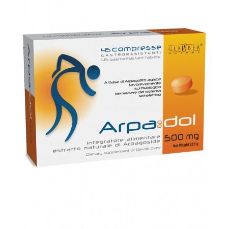 Forza Vitale Glauber Pharma Arpadol 45 compresse da 500 mg Integratore alimentare