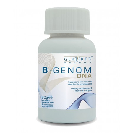 Forza Vitale Glauber Pharma B Genom DNA 60 cps 60 gr Integratore alimentare