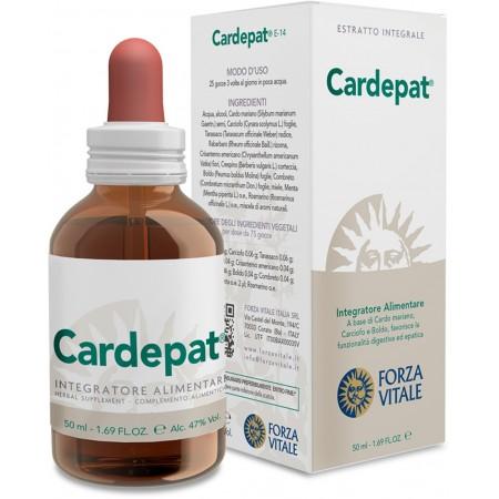 Ecosol Forza vitale Cardepat 50 ml Integratore alimentare