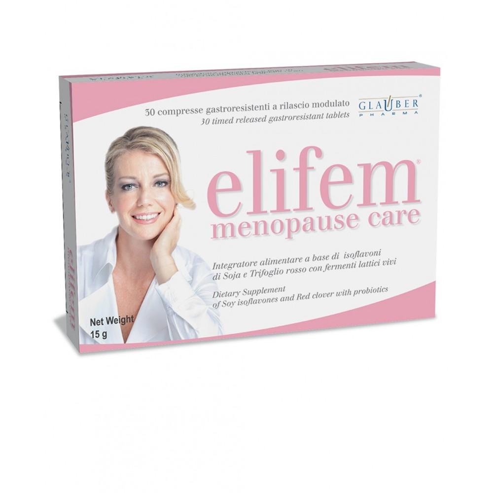 Forza Vitale Glauber Pharma Elifem 30