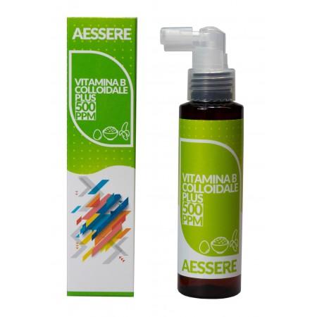 Aessere Vitamina B Colloidale Plus Spray 100 ml 500 PPM