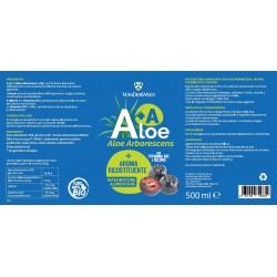 Vonderweid Aloe Arborescens + Aronia (Ricostituente) 500 ml Integratore alimentare