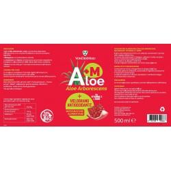 Vonderweid Aloe Arborescens + Melograno (Antiossidante) 500 ml Integratore alimentare