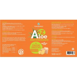 Vonderweid Aloe Arborescens + Zenzero (Digestivo) 500 ml Integratore alimentare