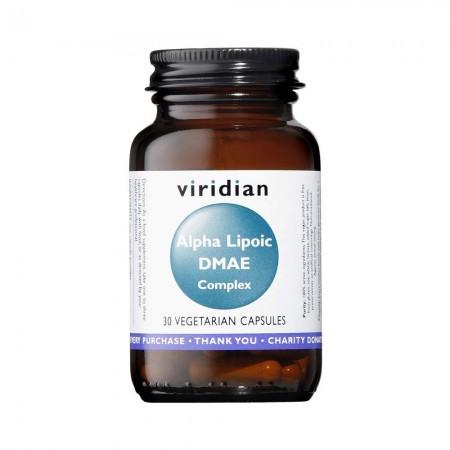 Viridian Acido Alfa Lipoico 30 capsule Integratore alimentare