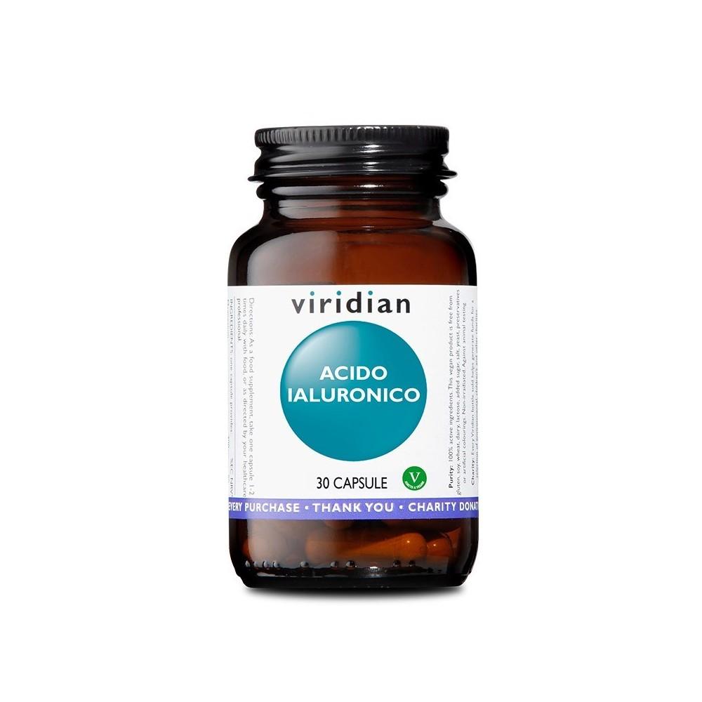 Viridian Acido Ialuronico 30 capsule