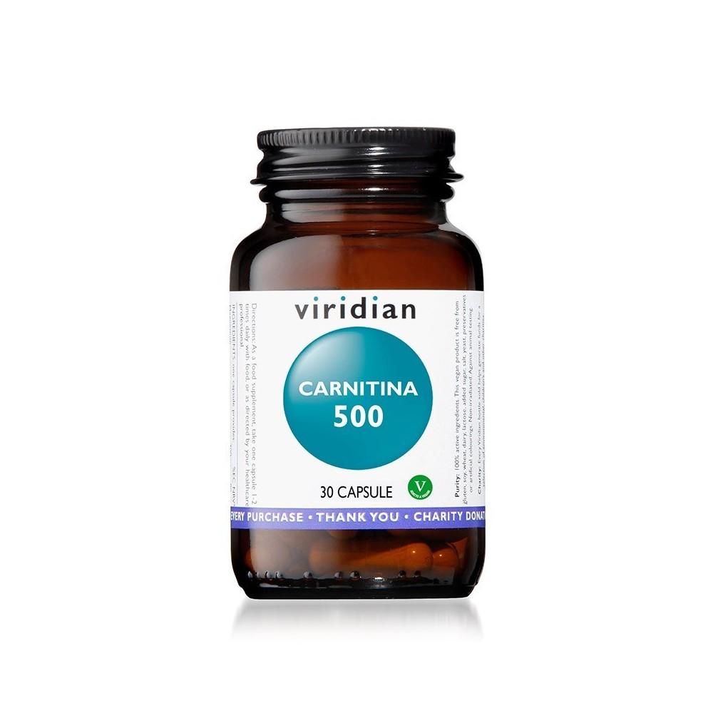 Viridian Carnitina 500 30 capsule
