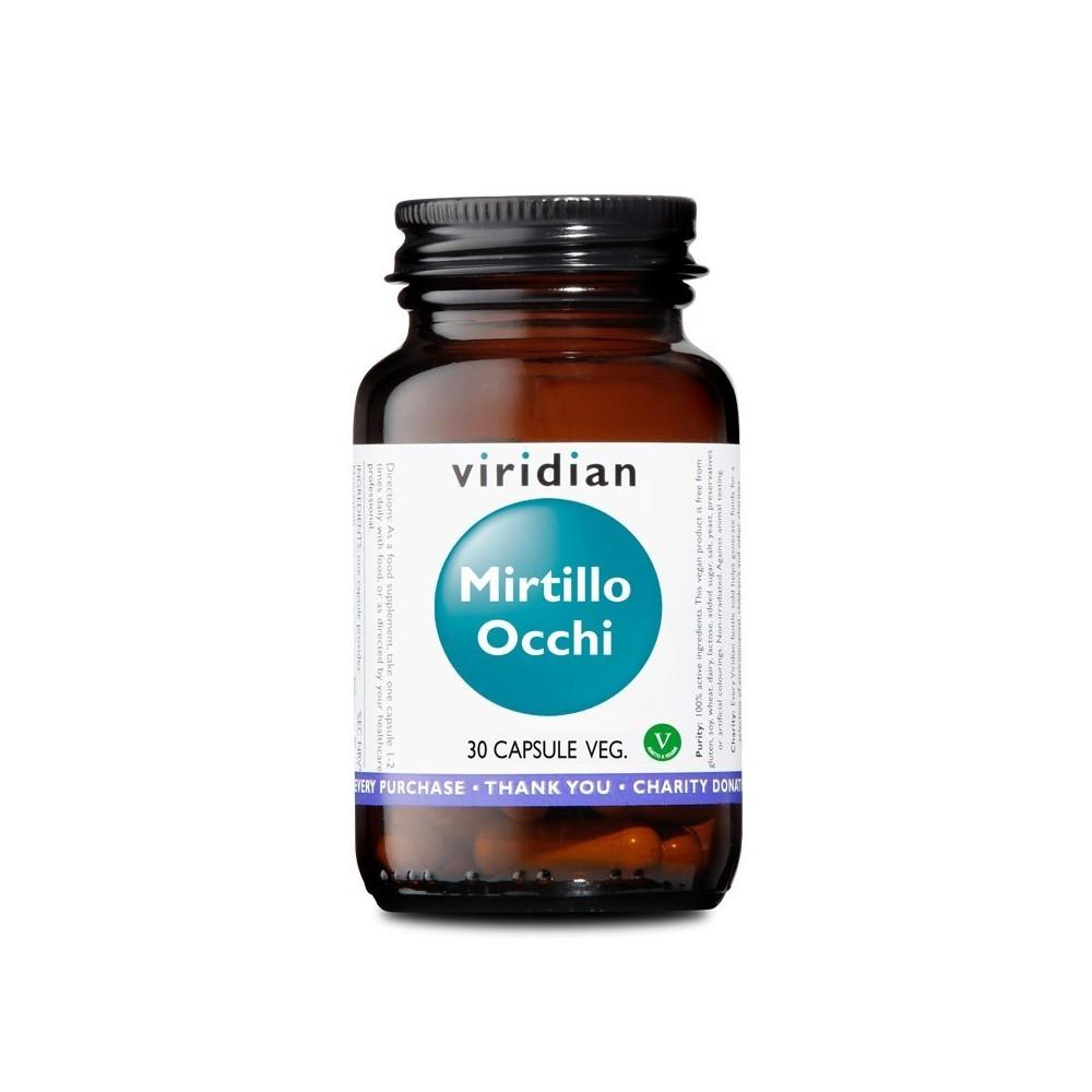 Viridian Mirtillo Occhi 30 capsule