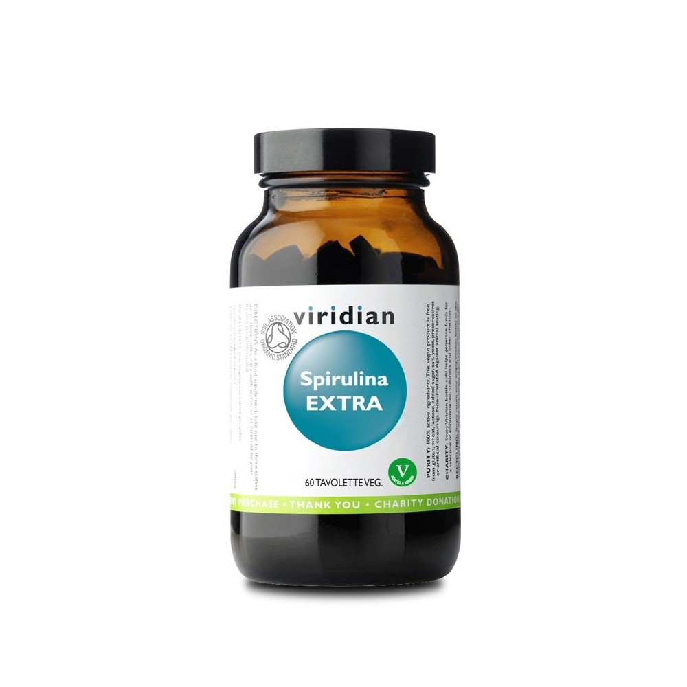 Viridian Spirulina Extra 60 tav.