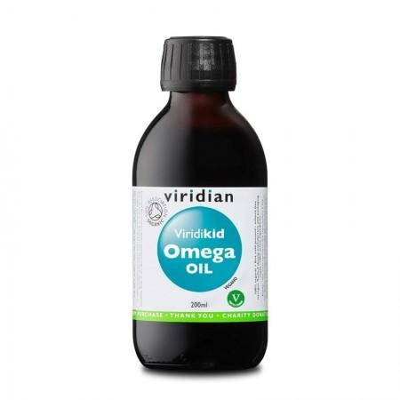 Viridian Viridikid Omega Oli 200 ml Integratore alimentare